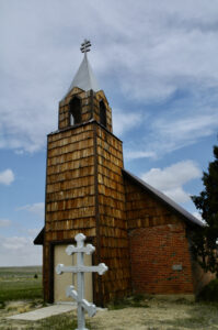 Original St. Mary's Holy Dorition Orthodox Church in Calhan, CO.
