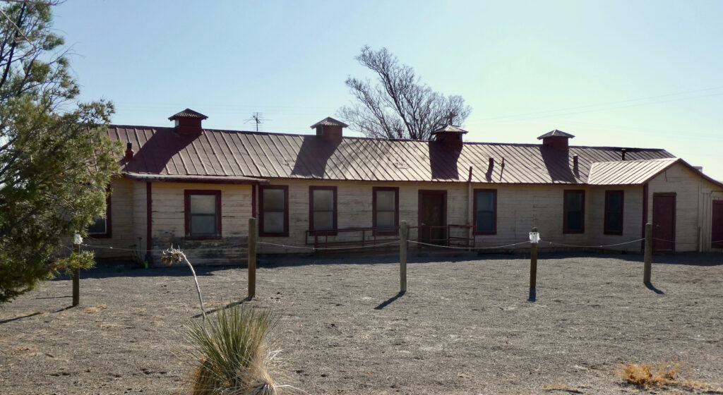 Pancho Villa State Park. NM.